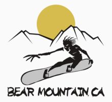 Bear Mountain, California Snowboarding Kids Clothes