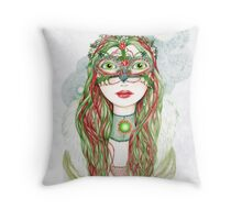 The Yuletide Princess Throw Pillow