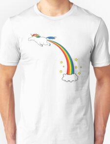 Unicorn Rainbow Fart T-Shirt