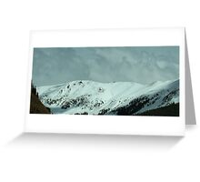 Snow and Storms Greeting Card
