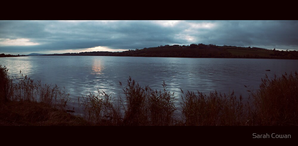 Evening on the River Foyle by Sarah Cowan