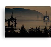 Oil and Gas Canvas Print