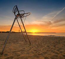 Barcelona Baywatch by Yhun Suarez