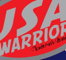 usa warriors arrows by rogers bros Sticker