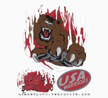 usa warriors bear by rogers bros by usanewyork
