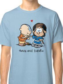 Aang & Katara (Avatar / Calvin & Hobbes) Classic T-Shirt