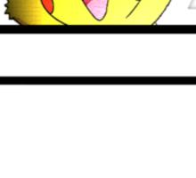 Pikachu Pocket Sticker