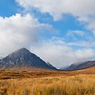 Buachaille Etive Mor Glencoe Scotland by Margaret S Sweeny