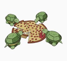 Hungry Hungry Turtles Kids Tee