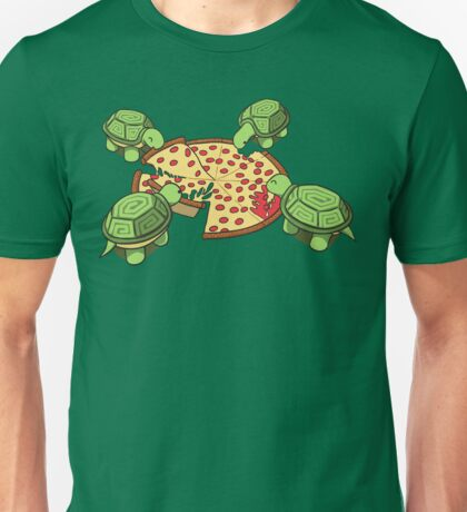 Hungry Hungry Turtles Unisex T-Shirt