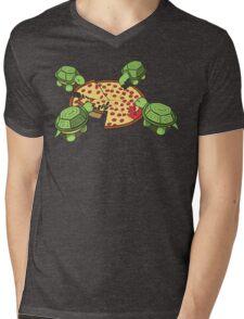 Hungry Hungry Turtles Mens V-Neck T-Shirt