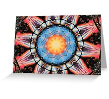 Science Fiction Picture Show Greeting Card