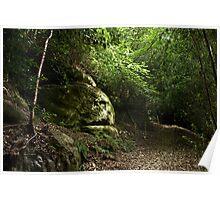 Brambletye Rocks Poster