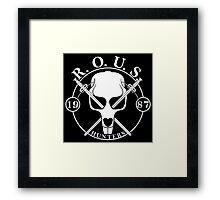 r o u s hunters Framed Print