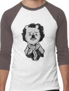 Winnie the Poe Men's Baseball ¾ T-Shirt