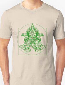 Vitruvian Dragon Zord Green T-Shirt