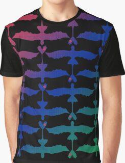 RGB Dragon Graphic T-Shirt