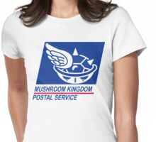 mushroom kingdom postal service Womens Fitted T-Shirt