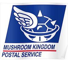 mushroom kingdom postal service Poster