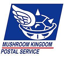 mushroom kingdom postal service Photographic Print