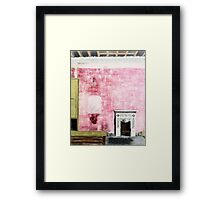 Fire Place Framed Print