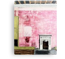 Fire Place Canvas Print