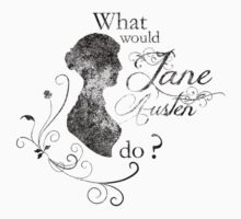 Jane Austen (vintage) by shyimg