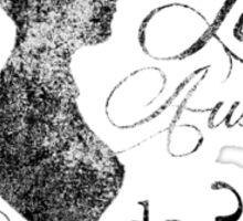 Jane Austen (vintage) Sticker