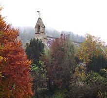 St Cedwyn's Church, Llangedwyn  by Jacqueline Longhurst