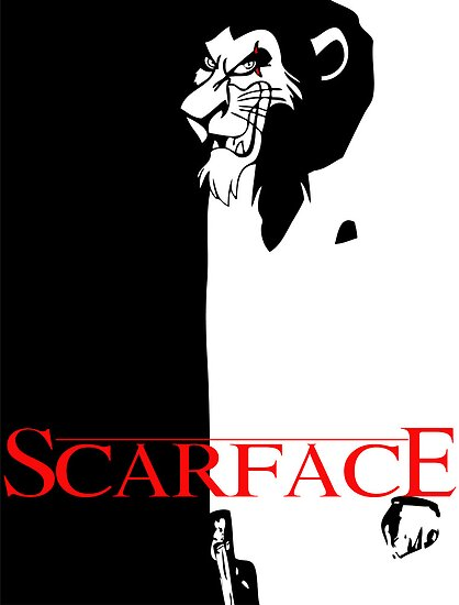 Scar Face by mcnasty