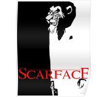 Scar Face Poster