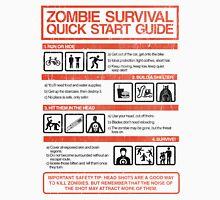 Zombie Survival - Quick Start Guide T-Shirt