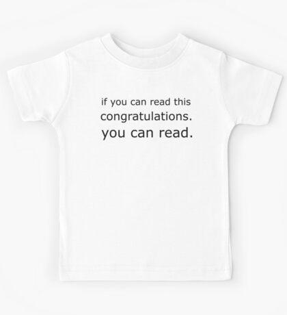 Congratz Kids Tee