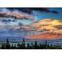 Pukalani Sunrise #1 Photographic Print