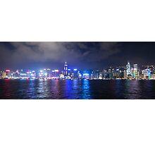 Hong Kong Island Skyline Photographic Print