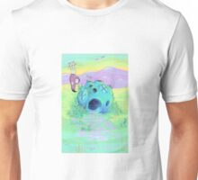 The Intrepid Space Bunny - Rabbit of The Galaxy  Unisex T-Shirt