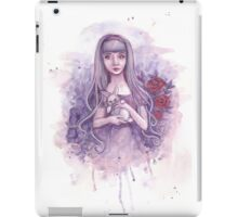 Alice in Wonderland and the White Rabbit iPad Case/Skin