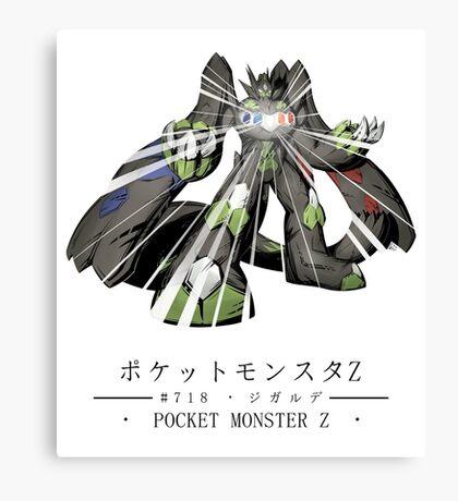 Pokemon Z Canvas Print