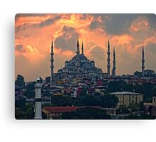 The Blue Mosque, Istanbul Canvas Print