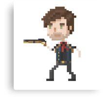 Pixel DeWitt - Bioshock Infinite Canvas Print