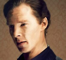 Benedict Cumberbatch by mephiztophel