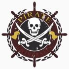 Pirate University Distressed by timageco