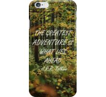 The greatest adventure 3 iPhone Case/Skin