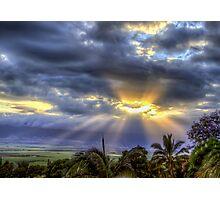 Maui Sunset 6/7/12 Photographic Print