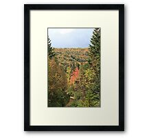 Fall Colors of Cape Breton  Framed Print