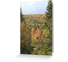 Fall Colors of Cape Breton  Greeting Card
