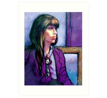 Portrait of Kathleen Art Print