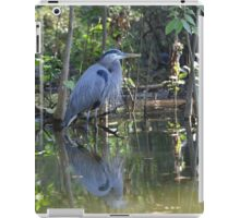 Great Blue Heron Dead River, Florida iPad Case/Skin