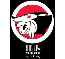 Sheep-n-Wolves Clothing Logo Photographic Print