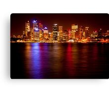 Colours of Sydney Canvas Print